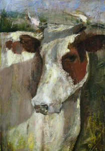 Portrait of the cow