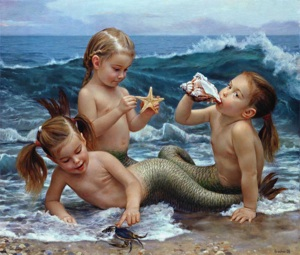 Little mermaids