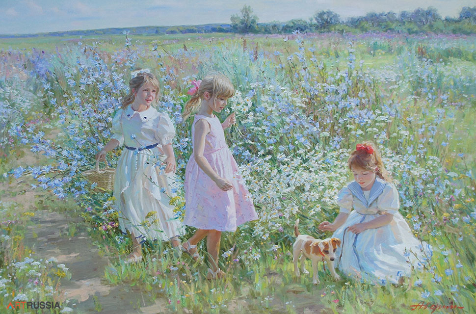 In the meadow (to order), Alexandr Averin