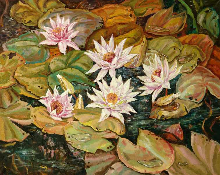 Water-lilies, Maria Andreeva