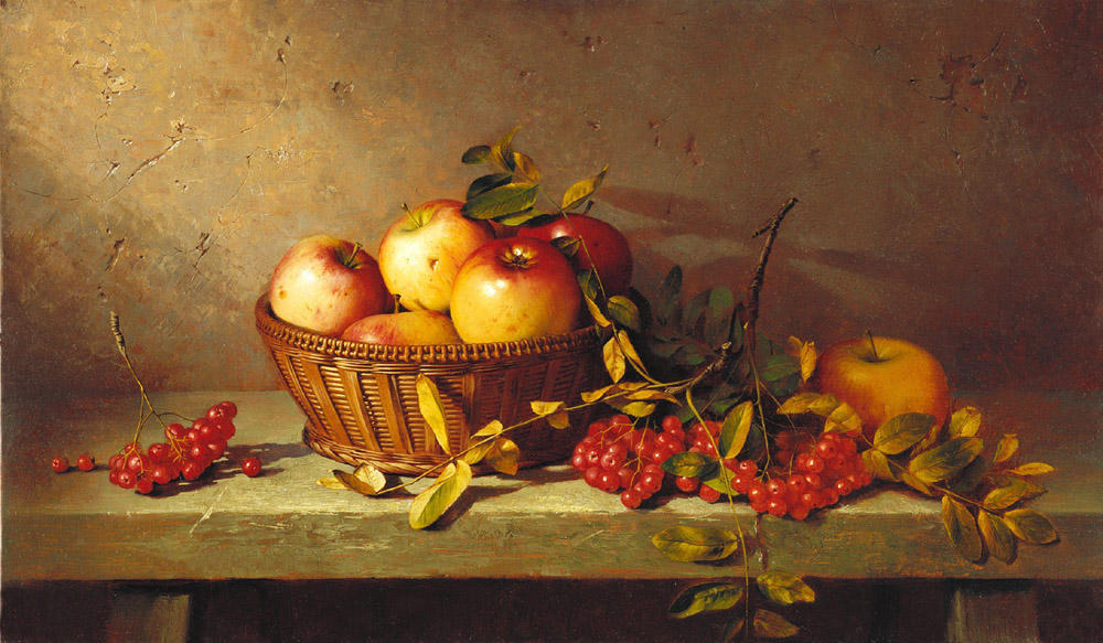 Apples and ashberry, Dmitri Annenkov