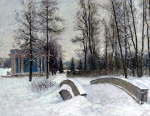 Winter in Tsarskoye Selo