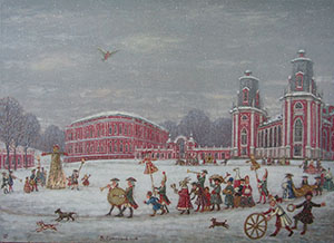Carnival in the Tsaritsyno Manor