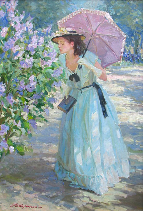 The smell of lilacs, Alexandr Averin