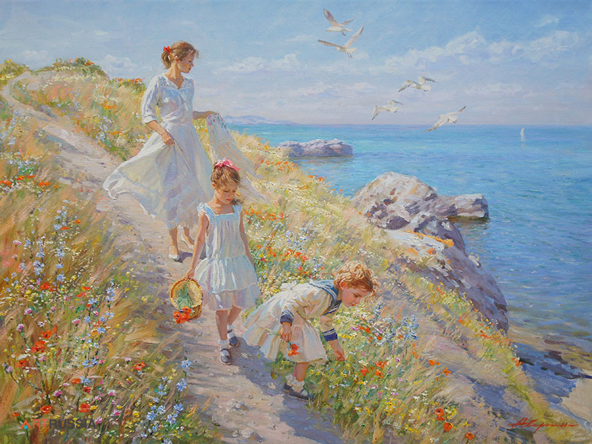 Path to the sea (to order), Alexandr Averin