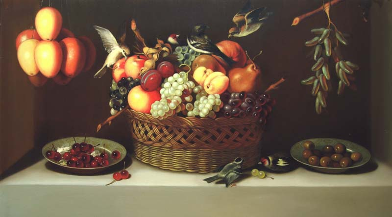 "Holland artist. ""Still-life"". The copy, Vladimir Aleksandrov"