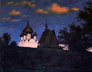 Evening in Suzdal