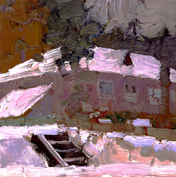 Red house. Academichka manor, Bato Dugarzhapov