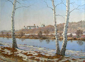Zvenigorod. First snow
