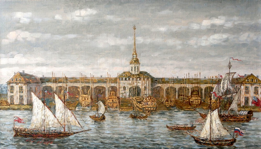 Admiralty. St. Petersburg, Vitaly Ermolaev