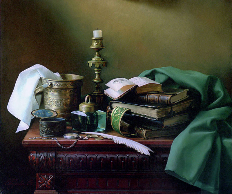 Still-life for private office, Elena Obukhova