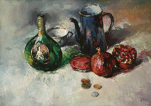 Still-life with the teapot