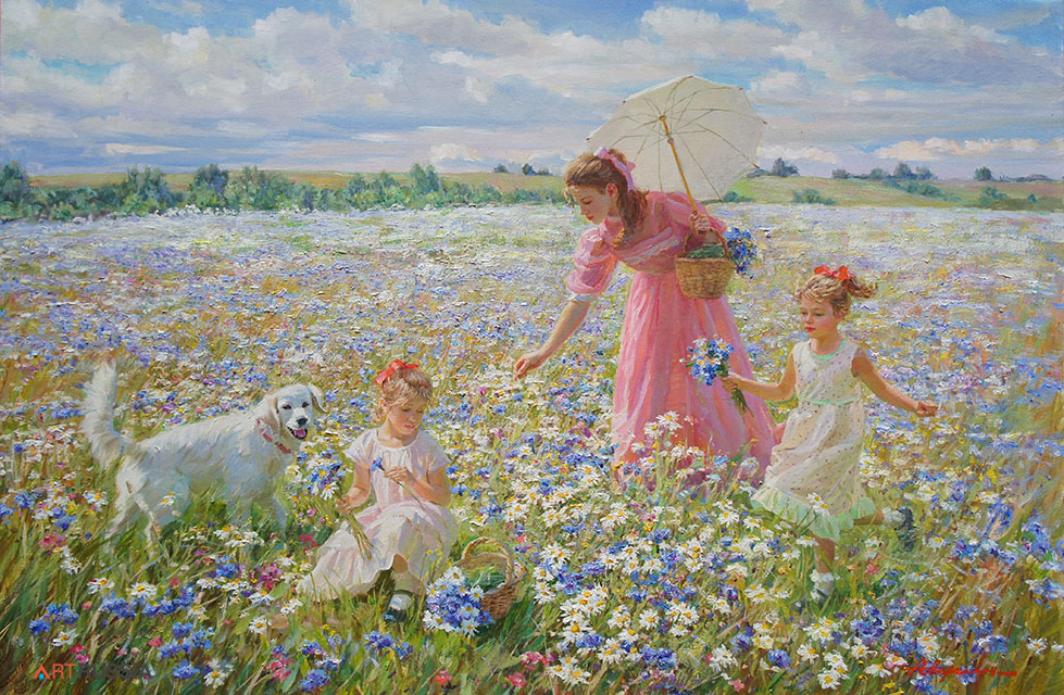 In the meadow #2 (to order), Alexandr Averin