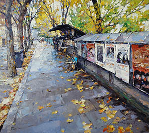 Autumn. Bouquiniste (Paris)