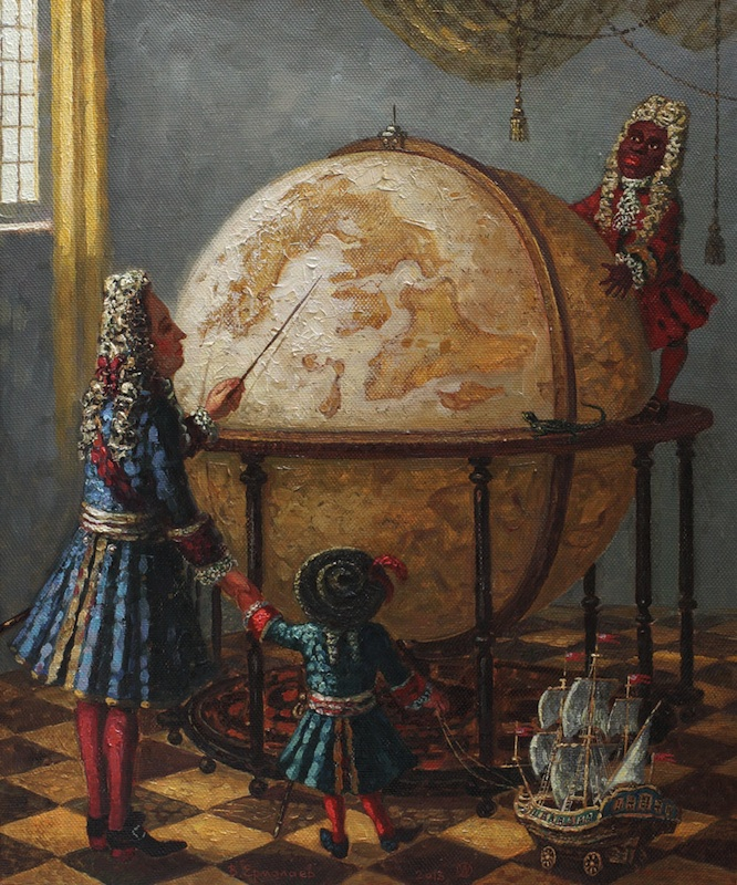 The Globe from Amsterdam, Vitaly Ermolaev