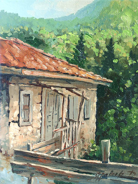 An old house, Dmitry Yarovov