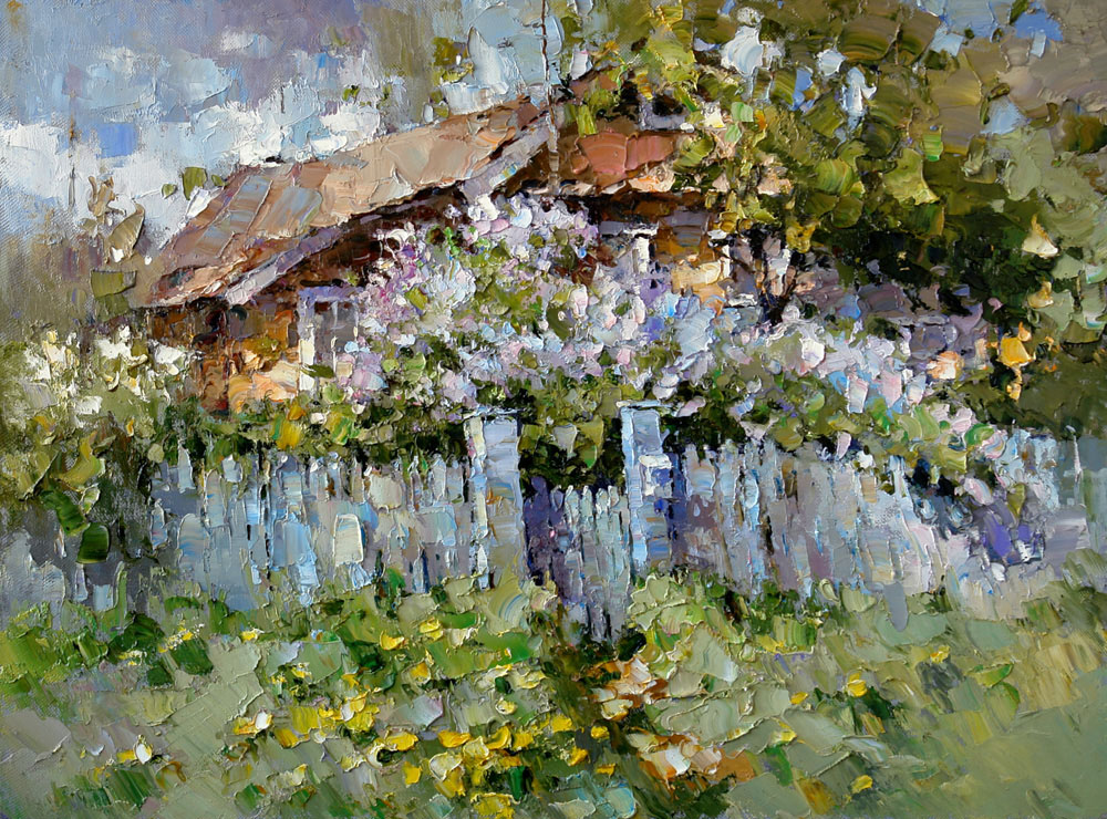House in lilac (to order), Alexi Zaitsev