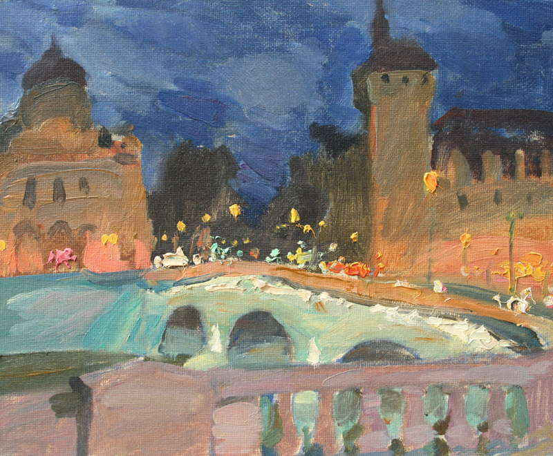 Night Paris # 2, Igor Larionov