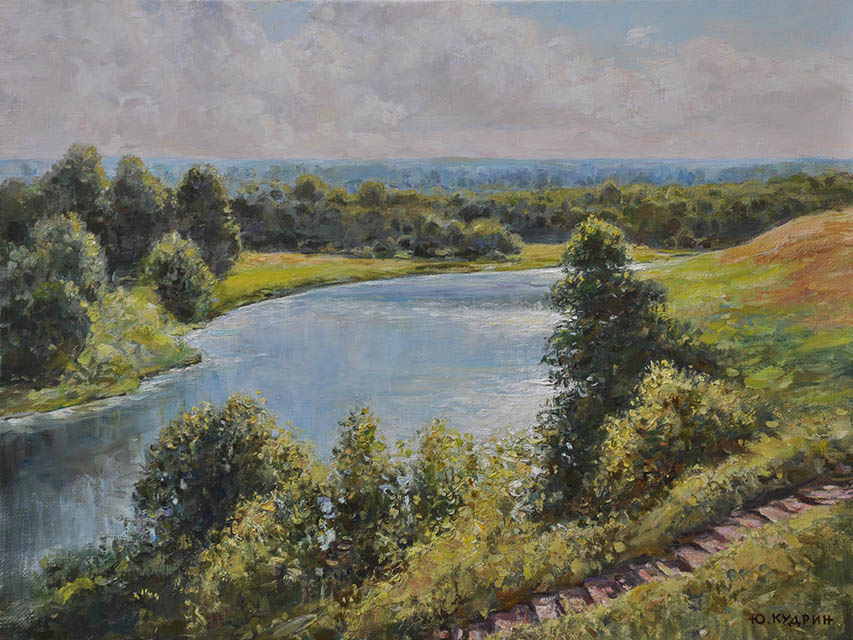 The River on sun, Yuri Kudrin