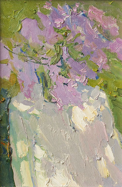 Bunnies in the lilac, Peter Bezrukov