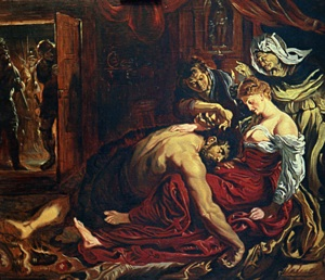 "Rubens, Peter Paul (1577-1640) ""Samson and Dalila"" The copy"