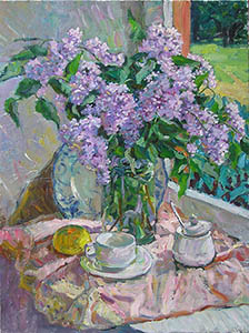 Lilac with lemon