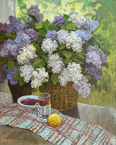 Still life with the lilac