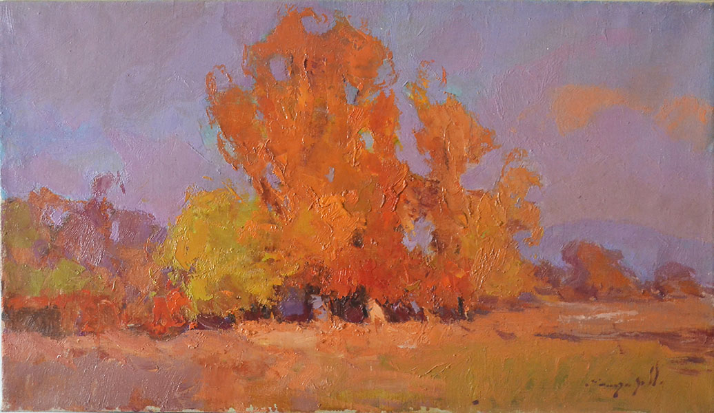 Golden autumn, Alexander Shandor