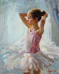 Portrait of the ballerina
