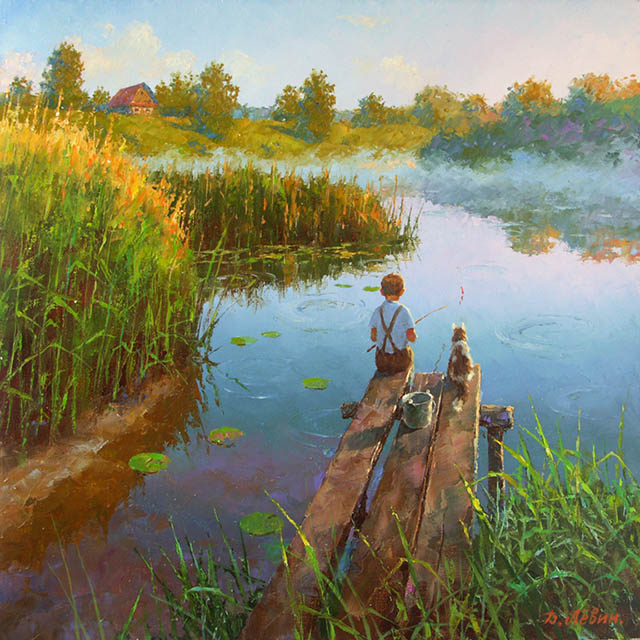 On the morning dawn, Dmitry Levin