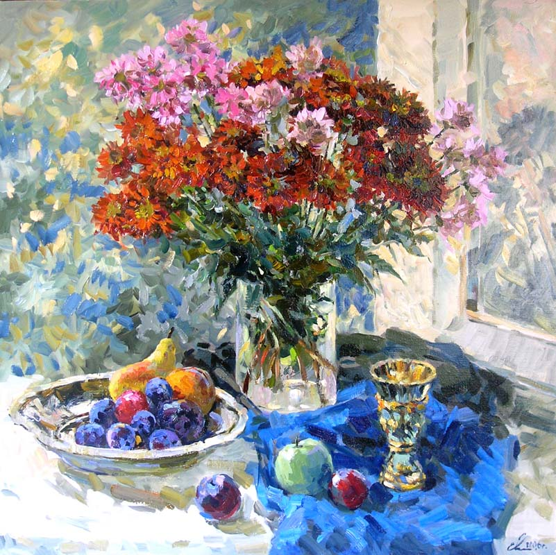 Autumn bouquet, Eugeni Malykh