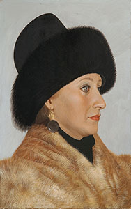 Portrait of Nina Yakunina