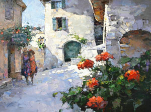 Village Lane in Provence