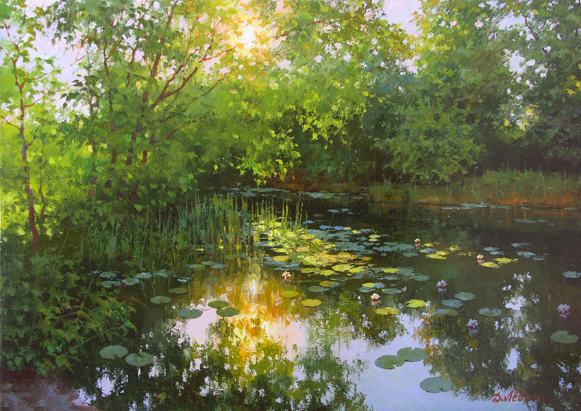 Emerald summer, Dmitry Levin