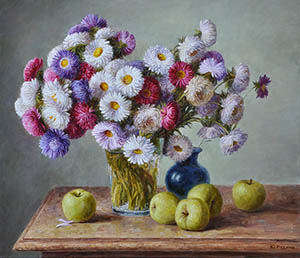 Asters and Antonovka appls