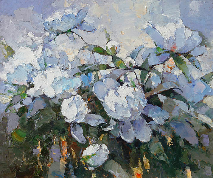 Peonies. Morning, Alexi Zaitsev
