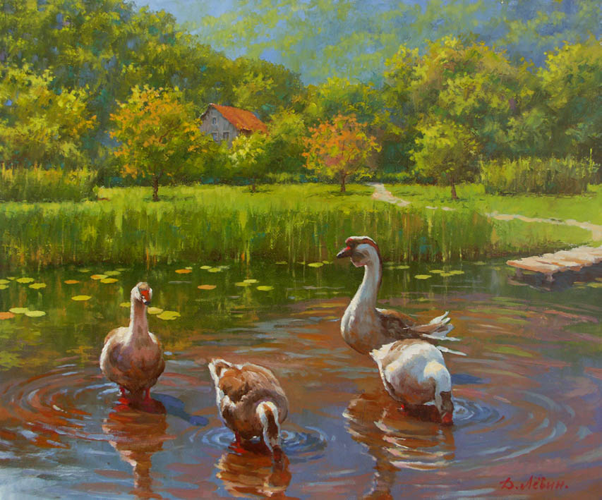 Ah, it's good in the summer..., Dmitry Levin