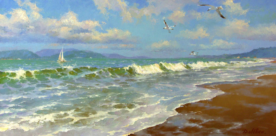 Fresh breeze, Dmitry Levin