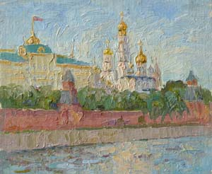 Moscow. View on the Kremlin