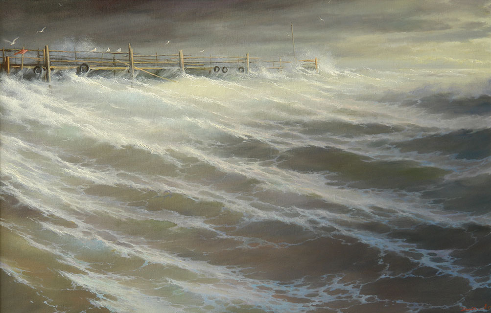 The old pier, George Dmitriev
