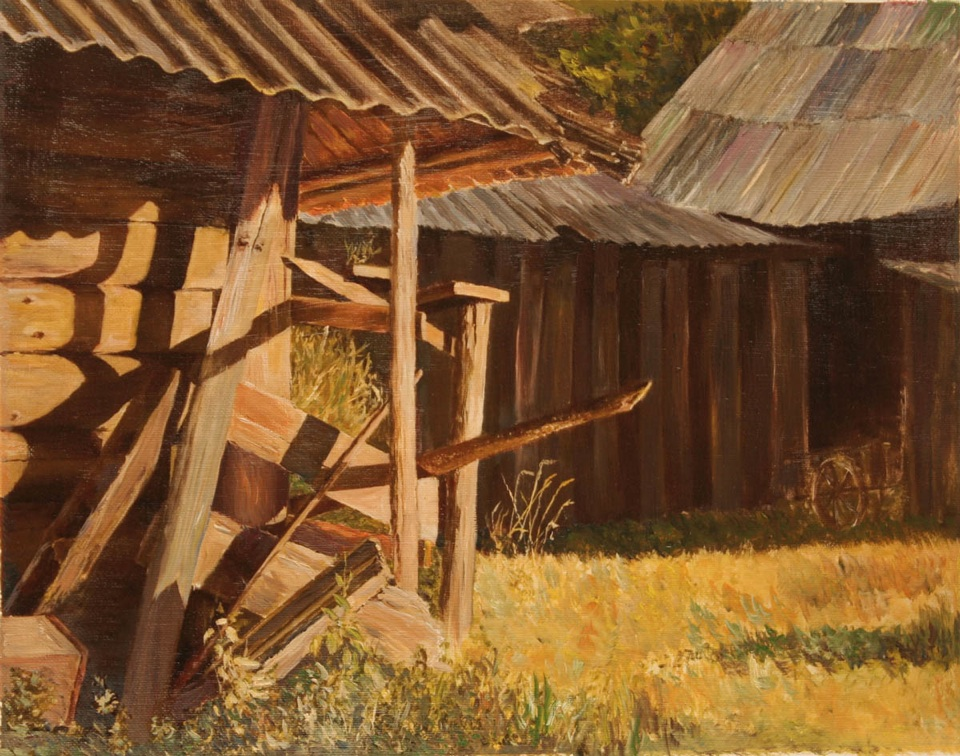 Warmth of Wooden Walls, Vladimir Volosov