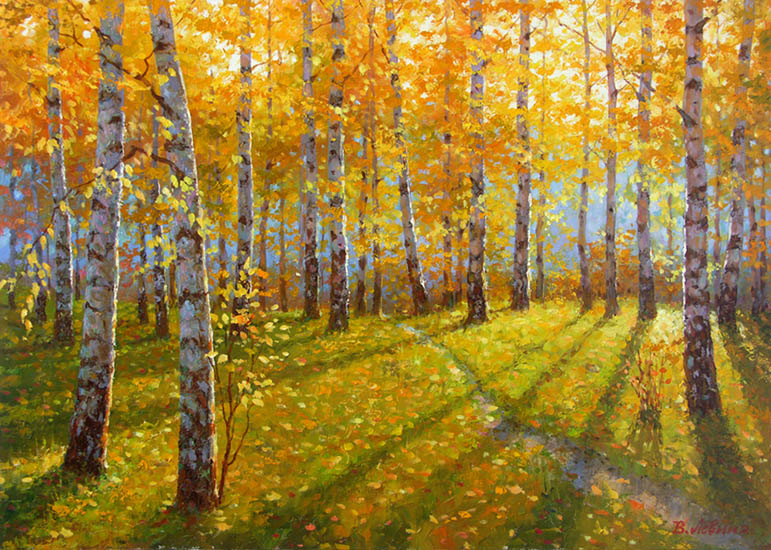 Golden Autumn, Viktoria Levina