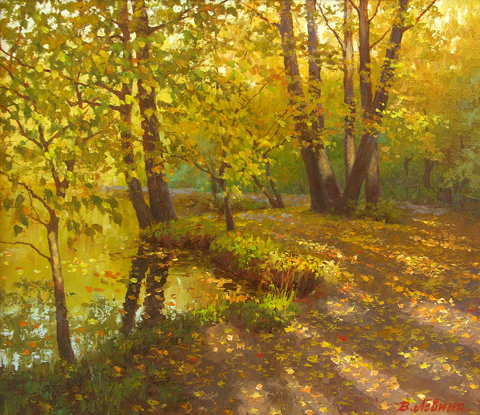 The charm of autumn days, Viktoria Levina