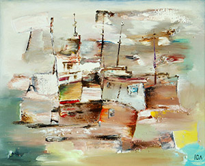 Sea motive. Harbour