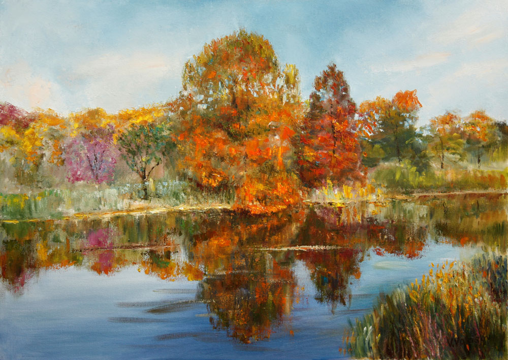 Gold of autumn, Vladimir Volosov