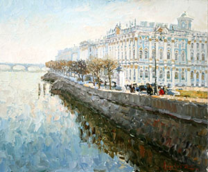 The State Hermitage Museum. St.-Petersburg