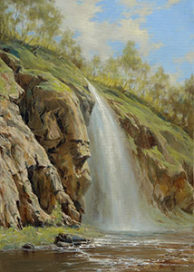 The honey waterfall in spring