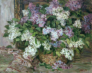 Lilac in the basket