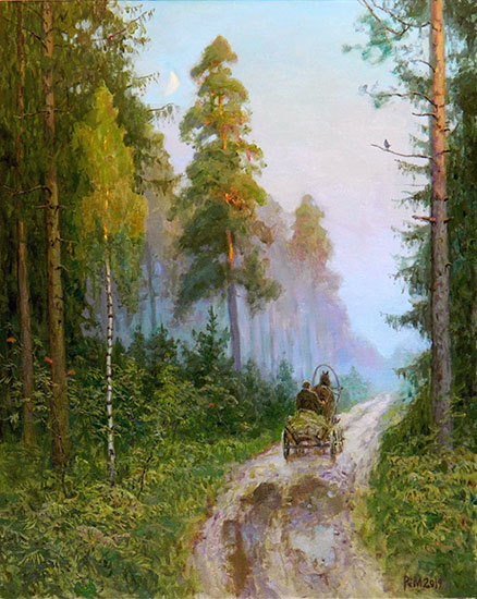 The road in the forest, Rem Saifulmulukov