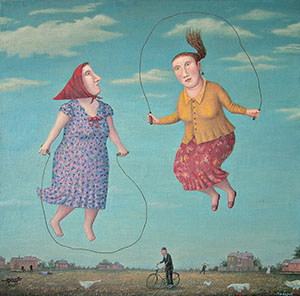 A game with skipping-rope